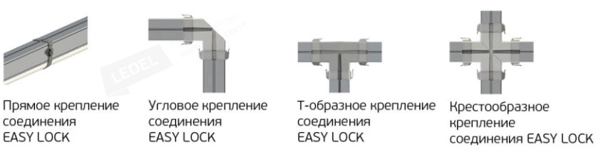 Коннекторы Easy Lock L-trade II 45  Рис. 1> 		  								  					</div> 		  				</div> 	  					  					  				 	  				<!-- Габаритные размеры --> 	  					  				 	  				<!-- Опции --> 	  					  				 	  				<!-- Диаграммы светового распределения --> 	  					  					<div class=